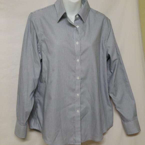 c177e7b5d Jones New York Tops | Button Down Shirt Sz M | Poshmark